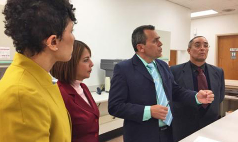 Cuban Delegation, UIC, University of Illinois Cancer Center work toward better women's health in Englewood