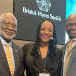 Watson, Henderson representing UI Cancer Center at BMS Grantee Summit