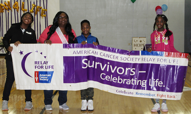 Students raise more than $8,500 at cancer event