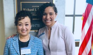 Hong, Tossas-Milligan discuss cancer funding on Capitol Hill