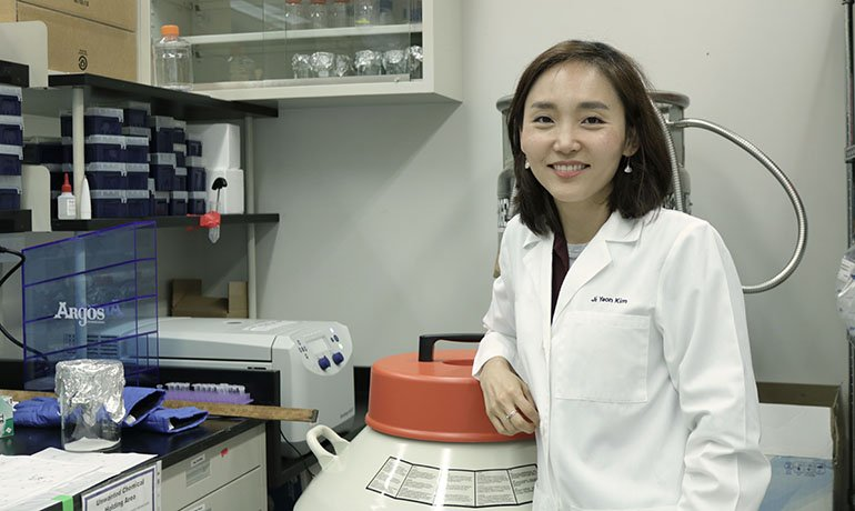 High school science experiment leads Kim to life as cancer researcher