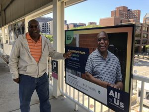 UI Cancer Center Patient Brigade members model for All of Us campaign