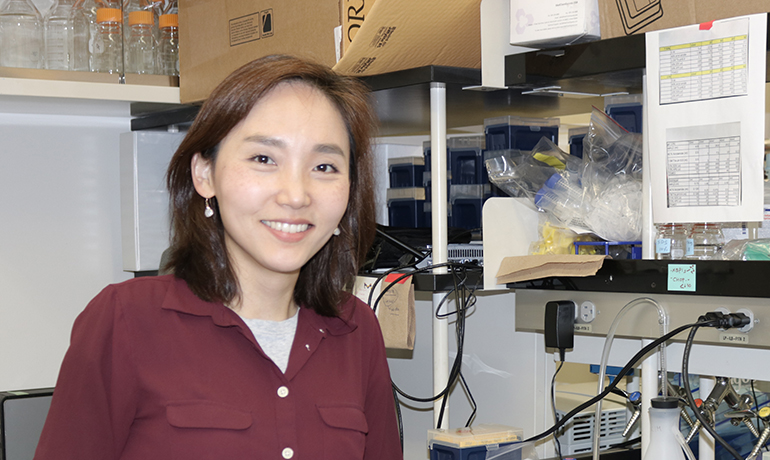 Kim's work could uncover new therapeutics to treat some lung cancers