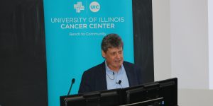 Using data science to cure cancer topic of Distinguished Lecture