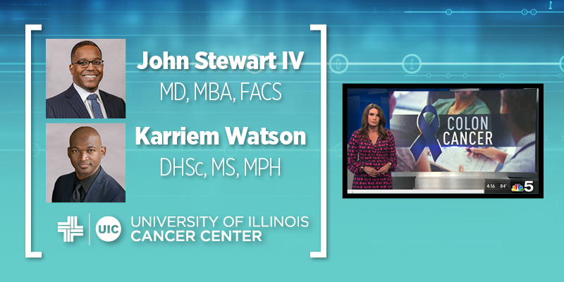 Stewart and Watson featured on NBC Chicago