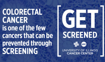 Colorectal cancer is one of the few cancers that can be prevented by screening