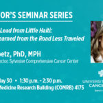 Director's Seminar Series All roads lead from Little Haiti: Lessons Learned from the Road Less Traveled.