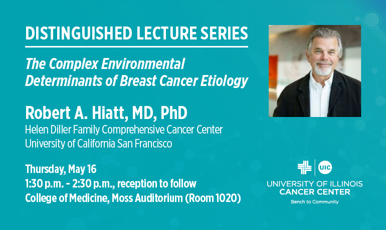 Distinguished Lecture Series The Complex Environmental Determinants of Breast Cancer Etiology.