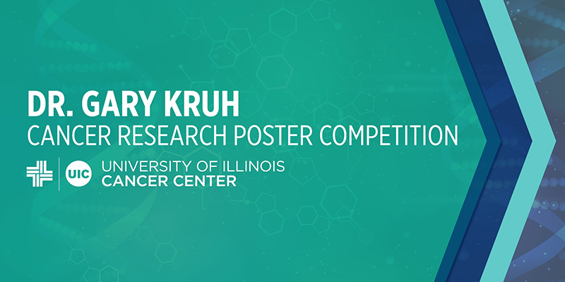 Gary Kruh Poster Competition logo graphic