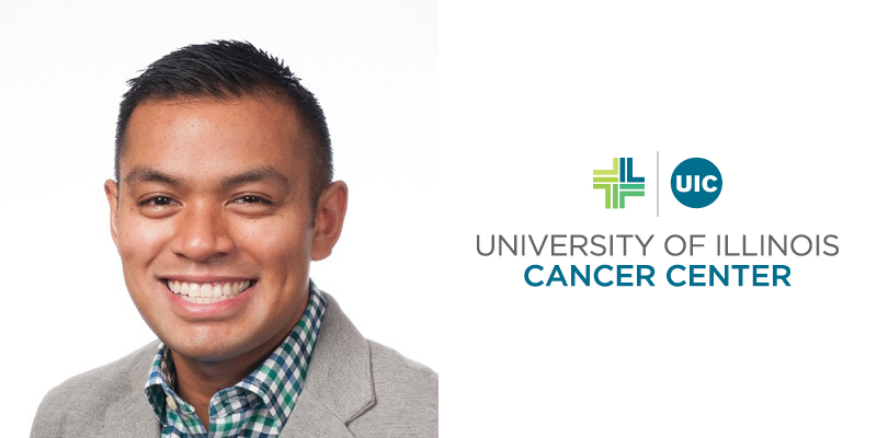 Greg Calip, UI Cancer Center member, led a new study that found lack of insurance among minorities.
