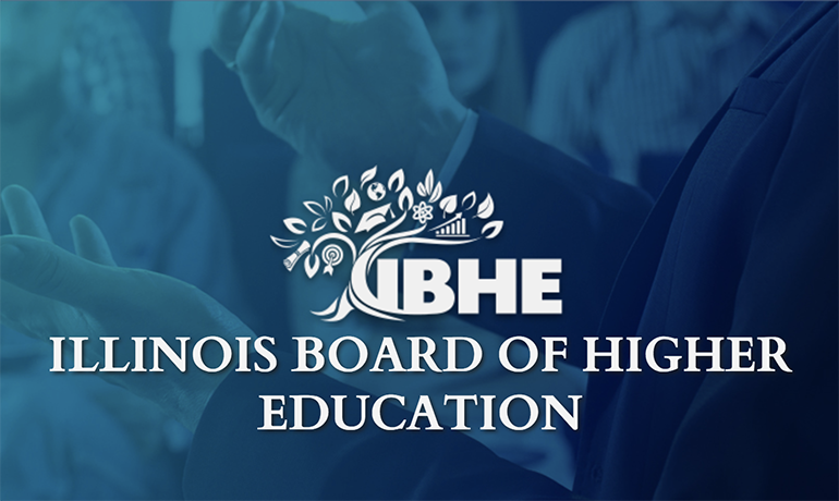 IBHE Illinois Board Of Higher Education.