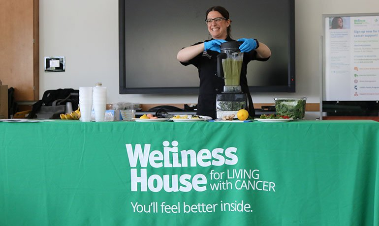 Wellness House for Living with Cancer- You'll feel better inside.