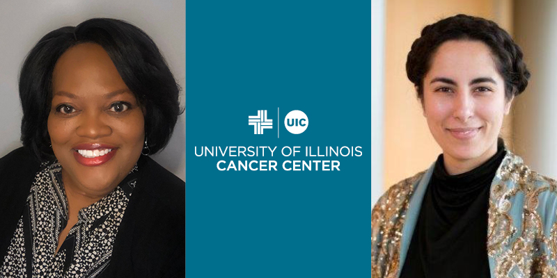 Kimberly Richardson proposed the HJR0086 bill that will create a special commission to study gynecologic cancer, which is sponsored by La Shawn K. Ford.