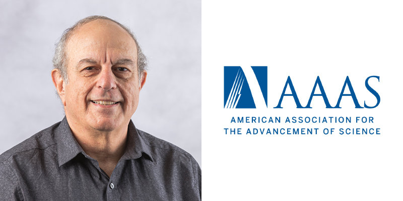 AAAS American Association For The Advancement Of Science with Nissim Hay face close up on left.