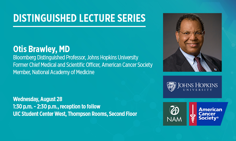 Distinguished Lecture Series- Otis Brawley, MD