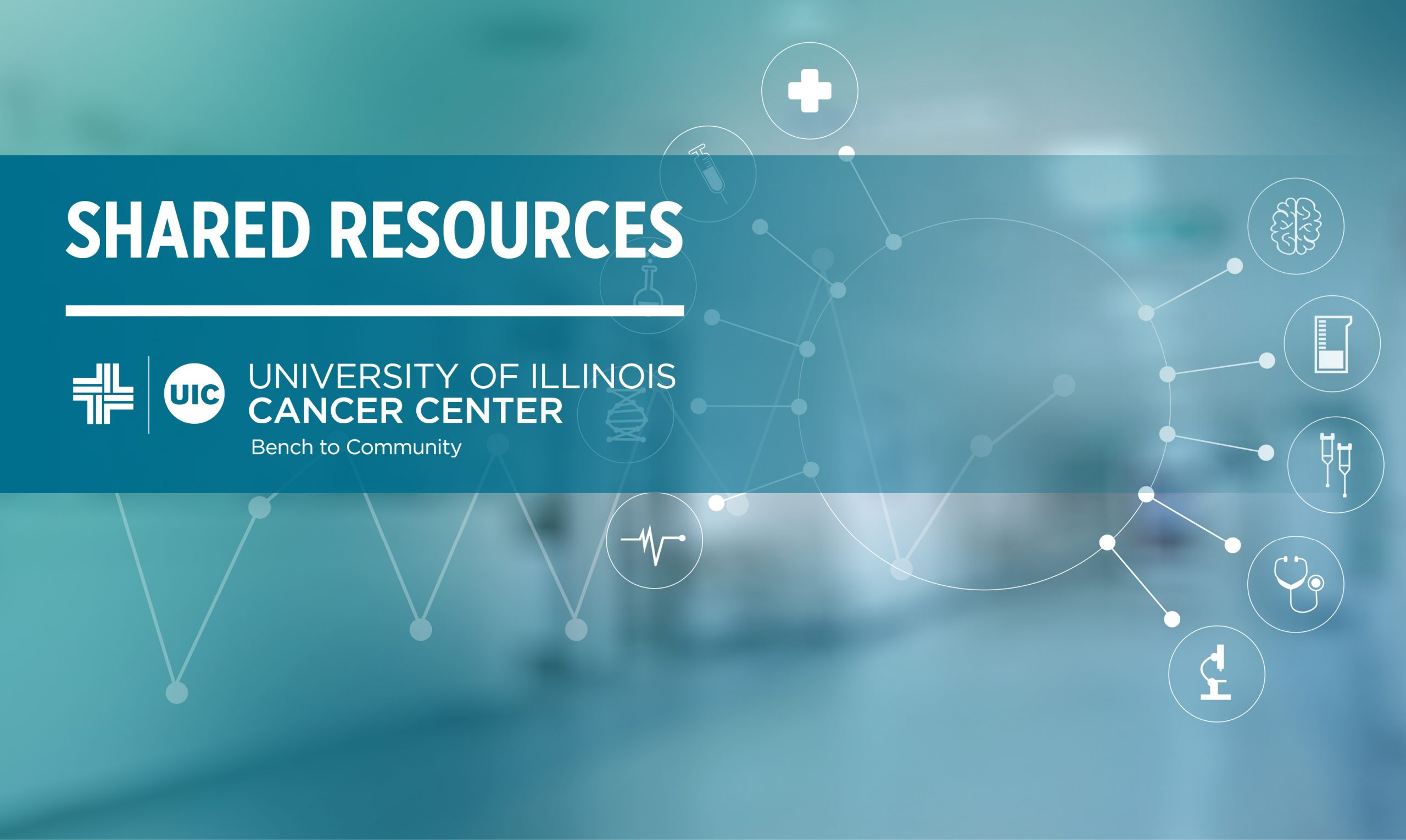 Shared Resources UIC University of Illinois Cancer Center Bench to Community.