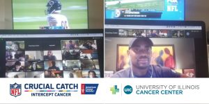 Cancer survivors, caregivers cheer Bears to victory