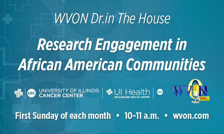 WVON Dr. in The House- Research Engagement in African American Communities