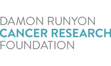 Damon Runyon Cancer Research Foundation logo on a white background