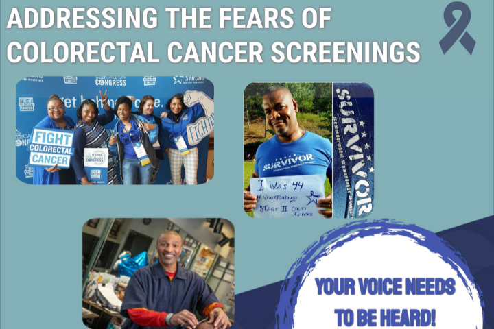 Colorectal Cancer Town Hall graphic